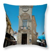 Museum Of Popular Arts, Musee Throw Pillow
