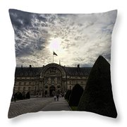 Museum Of The Army Throw Pillow