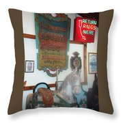 Museum Pieces Throw Pillow