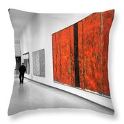 Museum Series 14 Throw Pillow