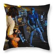 Museum-w-andy Davis-2382 Throw Pillow