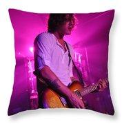 Museum-w-andy Davis-2494 Throw Pillow
