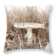 Mushroom 4 Throw Pillow
