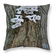 Mushroom Condo Throw Pillow