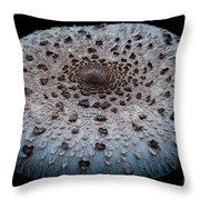 Mushroom Dish Throw Pillow