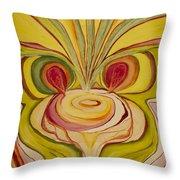 Sage Onion Mushroom Throw Pillow
