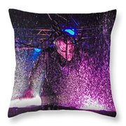 Mushroomhead He'd 2 Hed 2 At Backstage Live Throw Pillow