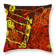 Music 1 Throw Pillow