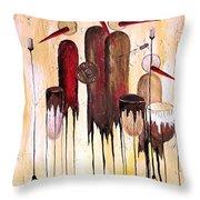 Music 740 - Marucii Throw Pillow
