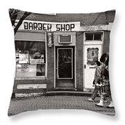 Music - Bag Piper - Somerville Nj -  The Scottsman Throw Pillow