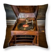 Music Box Throw Pillow