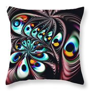 Music Factory Throw Pillow