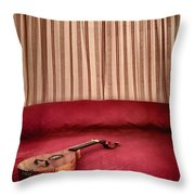 Music For Relaxation Throw Pillow