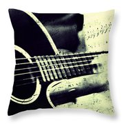 Music From The Heart II Throw Pillow