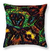 Music In My Bloodstream Throw Pillow