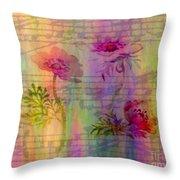 Music In The Air Throw Pillow