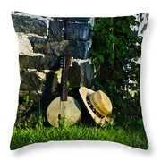 Music In The Morning Throw Pillow