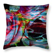 Music Of The Heart Throw Pillow