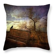 Music Of The Wind Throw Pillow