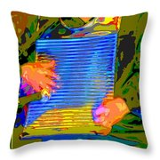Music Out Of Metal Xv Throw Pillow