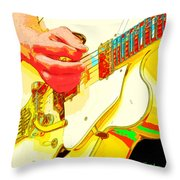Music Out Of Metal Xviii Throw Pillow