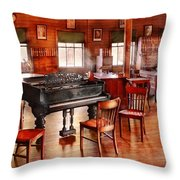 Music - Piano - The Grand Piano Throw Pillow