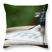 Music Symbols Throw Pillow