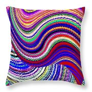 Music To The Eyes Throw Pillow