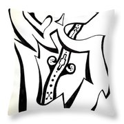 Music Within Throw Pillow