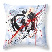 Musical Abstract 002 Throw Pillow