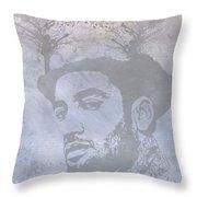 Musical Mind Of Ben Harper Throw Pillow