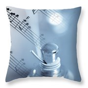 Musical Tune Throw Pillow