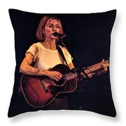 Musician And Songwriter Sam Phillips Throw Pillow