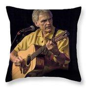 Musician And Songwriter Verlon Thompson Throw Pillow