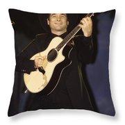 Musician Clint Black  Throw Pillow