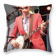 Musician Dan Zanes Throw Pillow