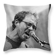 Musicians Warren Zevon Throw Pillow