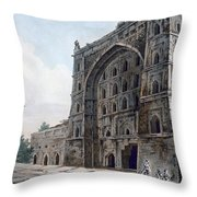 Musjid At Jaunpur Throw Pillow