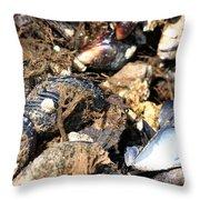 Mussels Throw Pillow