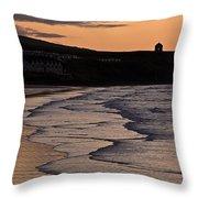 Mussenden Sunset Throw Pillow