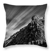 Mussenden Temple - On The Edge Throw Pillow