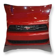 Mustang 2009 Throw Pillow