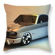 Mustang 66 Throw Pillow