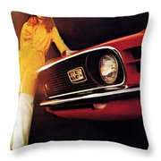 Mustang '70 Throw Pillow