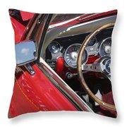 Mustang Classic Interior Throw Pillow
