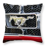 Mustang Grill Throw Pillow