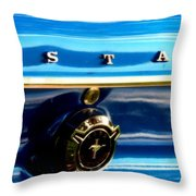 Mustang Logo Throw Pillow