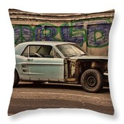 Mustang Power Throw Pillow