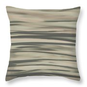 Muted Shades Throw Pillow