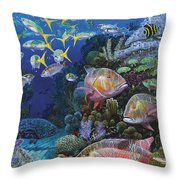 Mutton Reef Re002 Throw Pillow